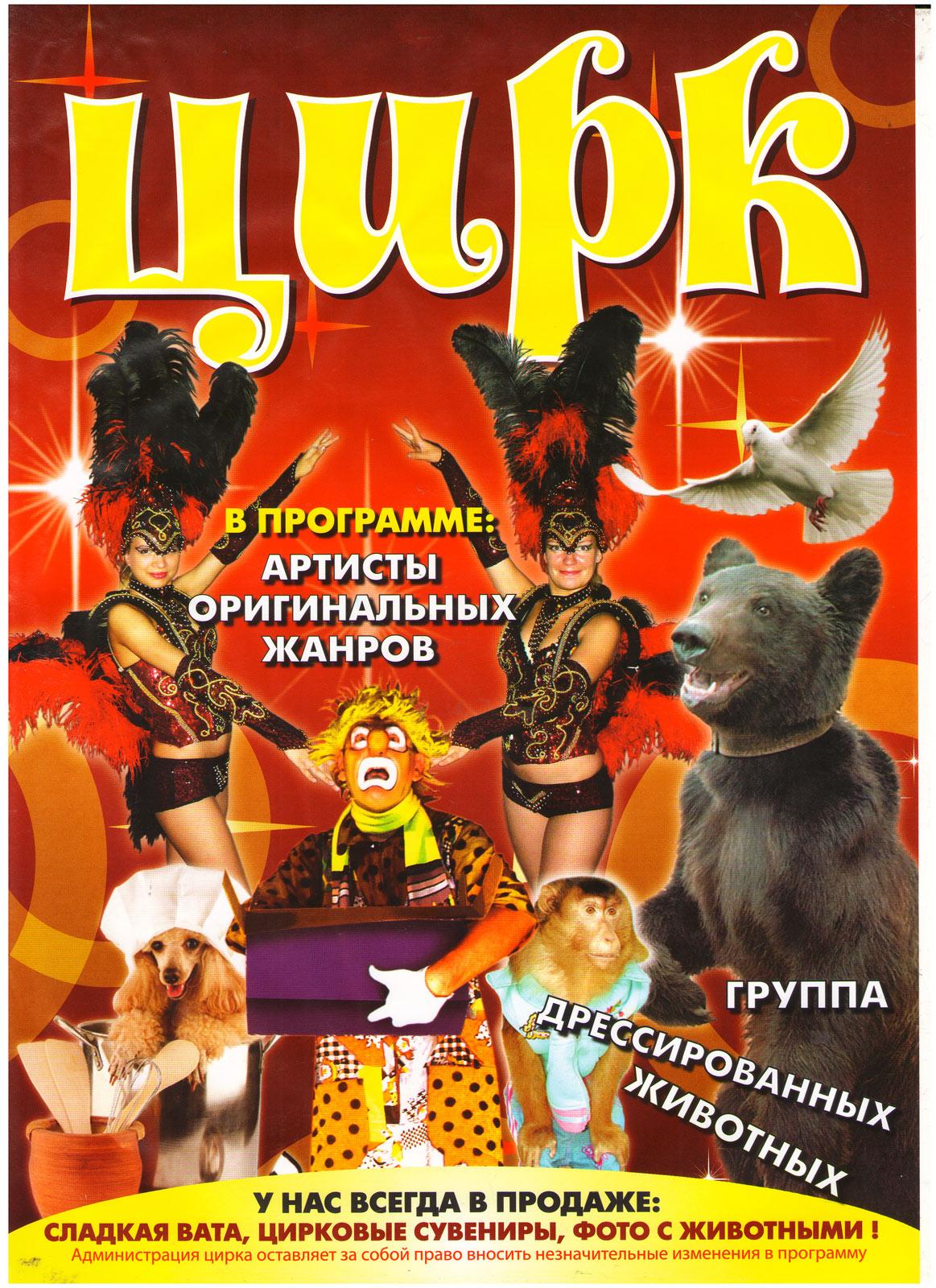 Цирк в томске с 4 октября 23 фотография